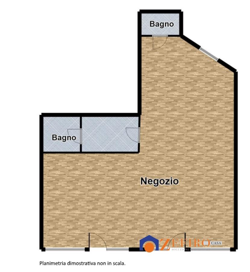 Negozio / Locale in affitto a San Giovanni in Persiceto, 2 locali, prezzo € 1.000 | Cambio Casa.it